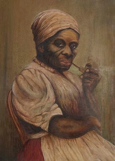 "Is This Harriet Tubman?--11"" x 14"" Fine Art Reproduction -canvas"
