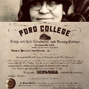 PORO COLLEGE DIPLOMA (1927...Limited Edition)